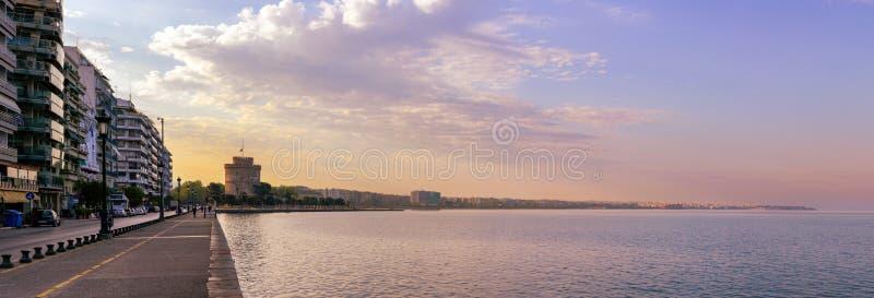 Argine di Salonicco fotografia stock