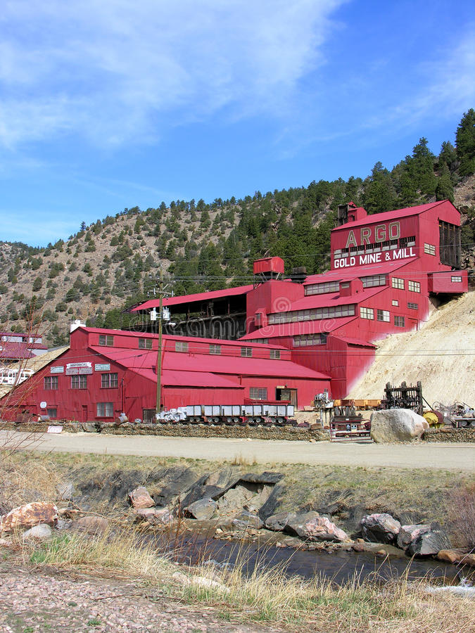 Download Argo Gold Mine & Mill editorial image. Image of country - 12761875