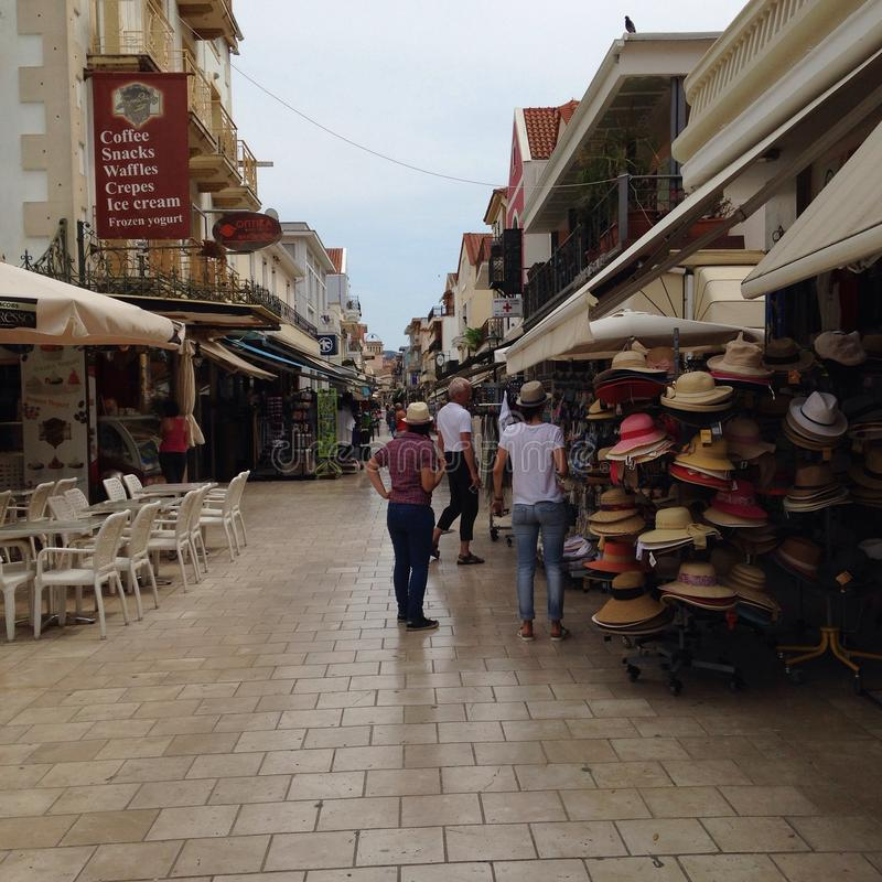 Argostoli/Greece stock images