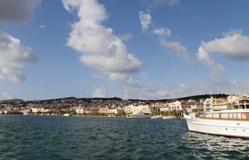 argostoli miasta Greece kefalonia obraz stock