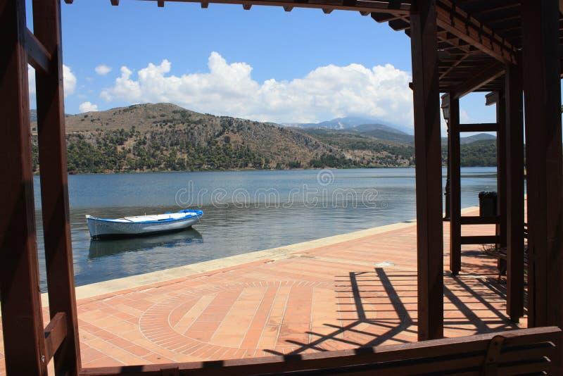 Argostoli Mountains - Kefalonia royalty free stock photos
