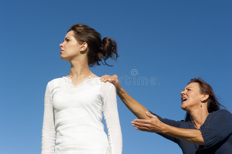 Download Argue Between Two Generations Royalty Free Stock Photo - Image: 24849325
