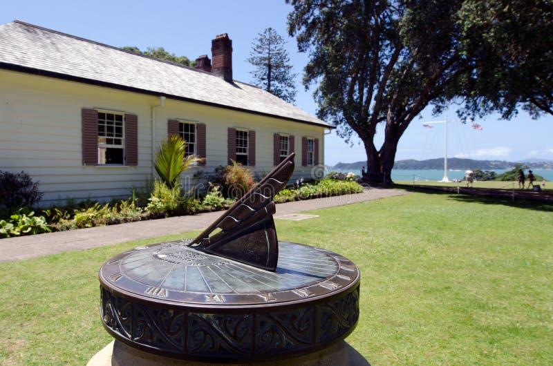 Argumentos del tratado de Waitangi foto de archivo libre de regalías