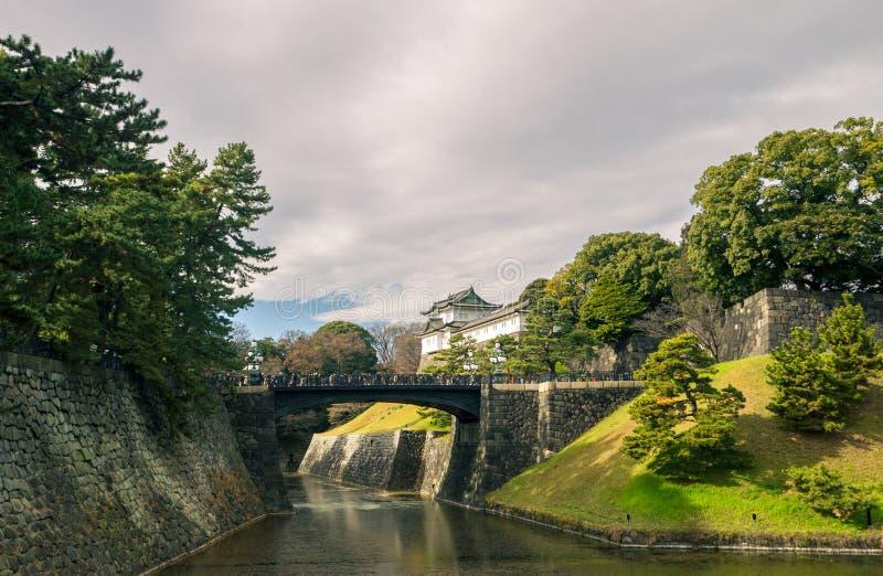 Argumentos imperiales del palacio, Tokio fotografía de archivo libre de regalías