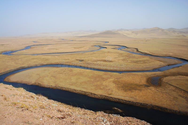 Argun-Fluss lizenzfreie stockfotos