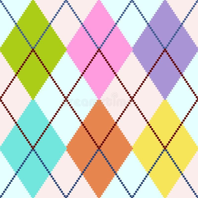 argyle διάνυσμα διανυσματική απεικόνιση