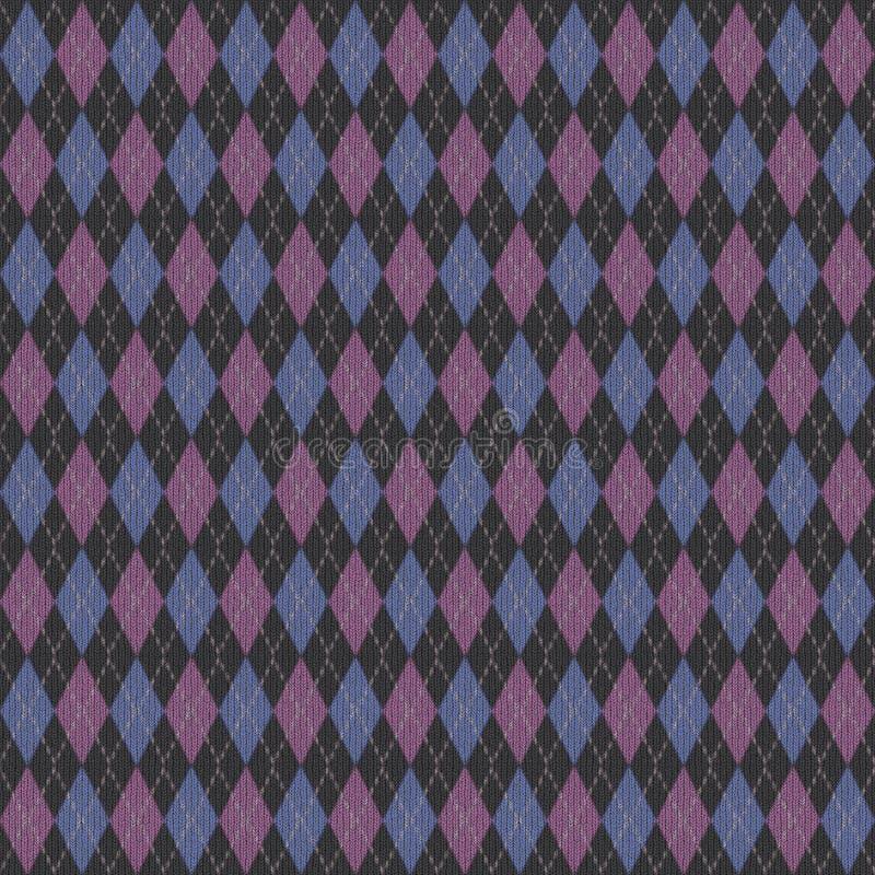 argyle πλέξτε διανυσματική απεικόνιση