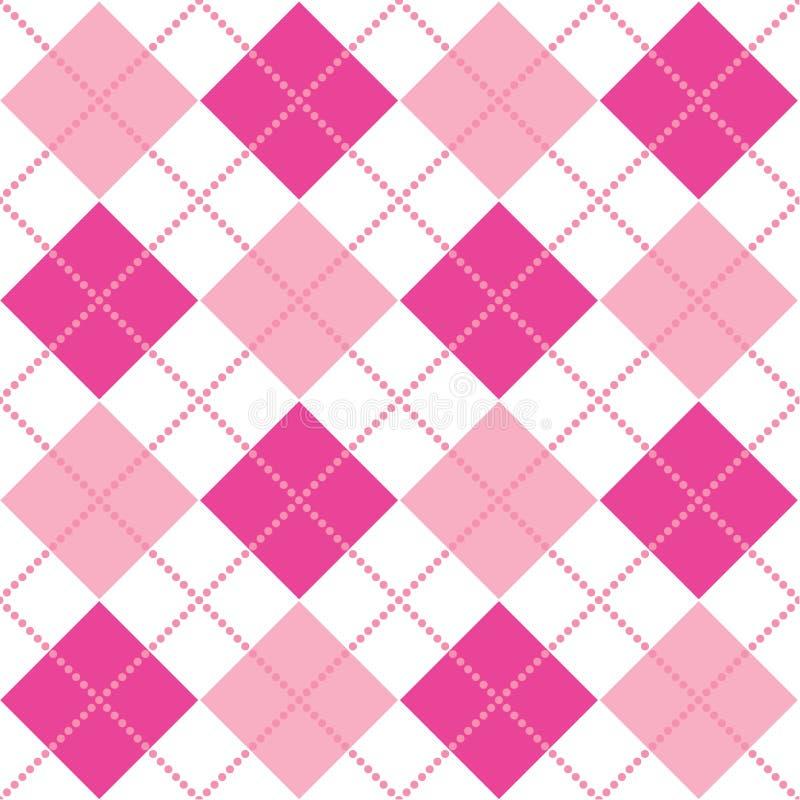 argyle ροζ ελεύθερη απεικόνιση δικαιώματος