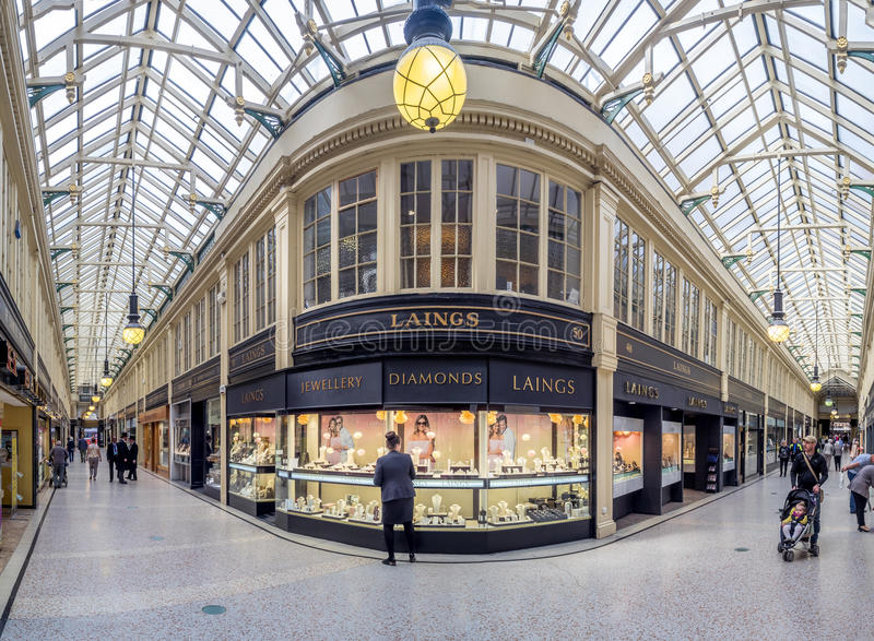 Argyle Arcade, Glasgow immagine stock