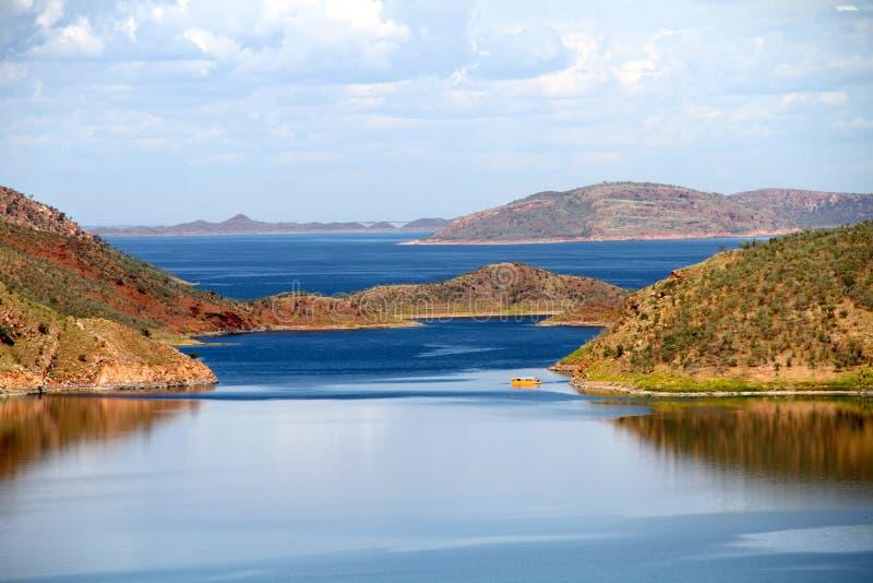 Argyle do lago na Austrália Ocidental imagens de stock royalty free