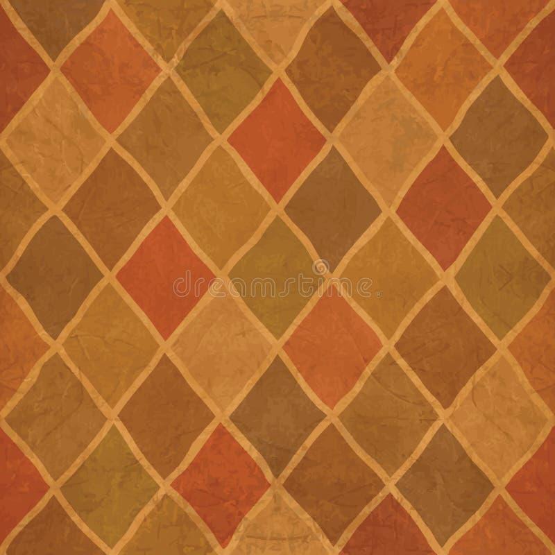 Download Argyle pattern stock vector. Illustration of beige, elegance - 27064402