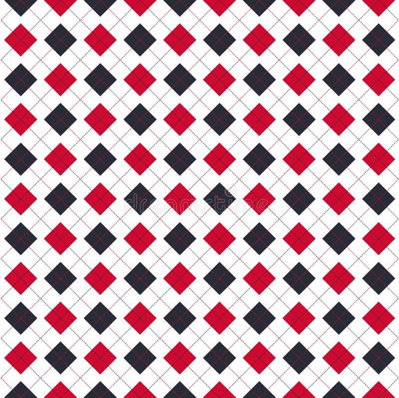 Argyle pattern royalty free stock photos