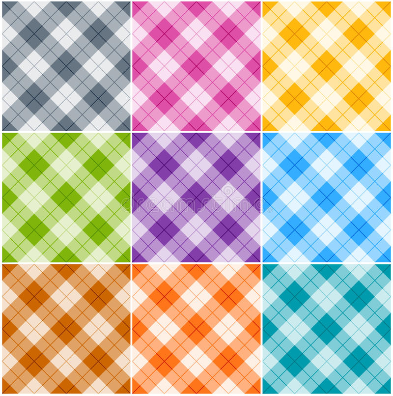Download Argyle patterns stock vector. Illustration of abstract - 25354758