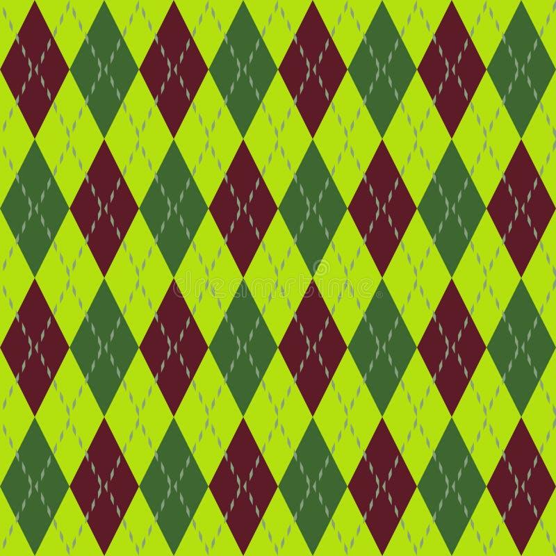 Download Argyle seamless pattern stock illustration. Image of decorative - 12360140