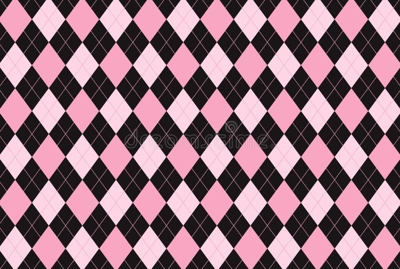 Argyle seamless pattern background. royalty free stock images