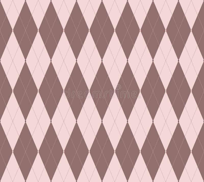 Argyle seamless vector pattern royalty free illustration