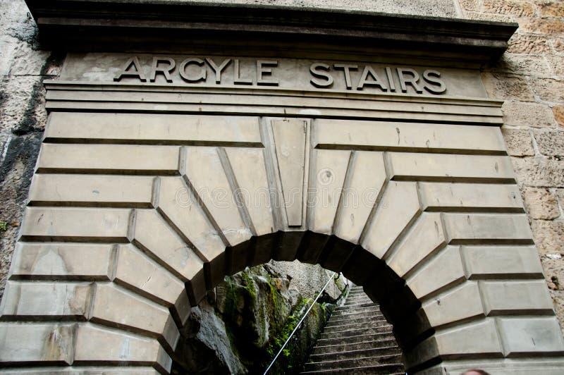 Argyle Stairs images libres de droits