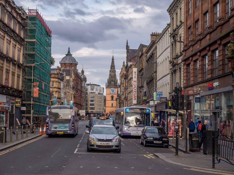 Argyle Street, Glasgow photographie stock libre de droits