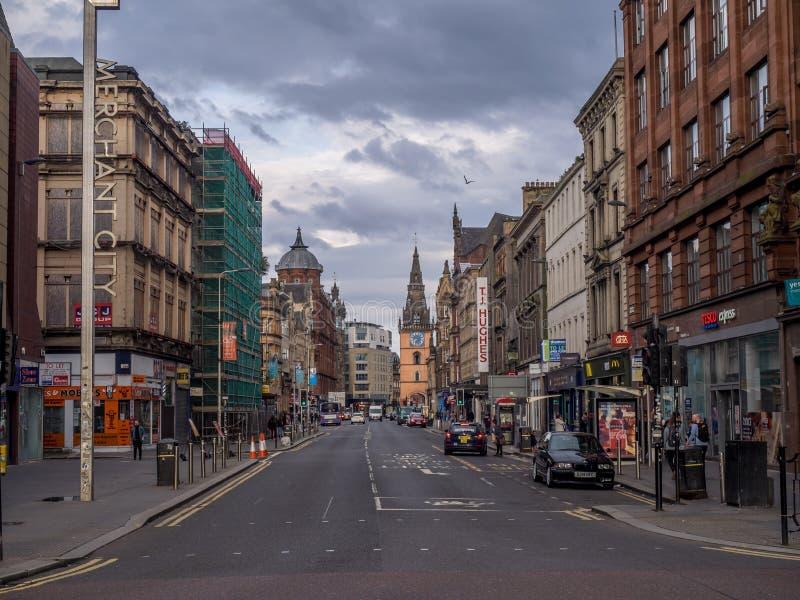 Argyle Street, Glasgow fotografie stock
