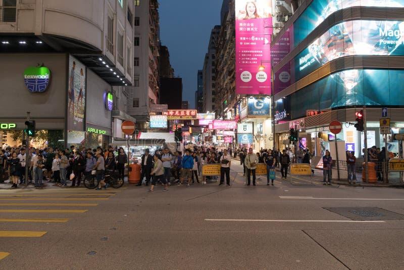 Argyle Street Hong Kong photos stock