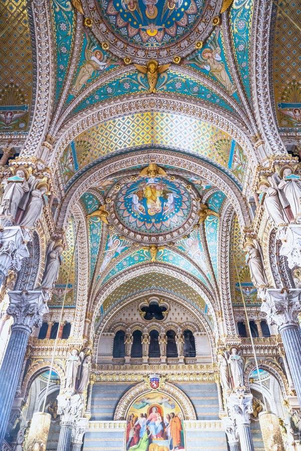 Arhitectures dans la vieille ville de Lyon photos libres de droits