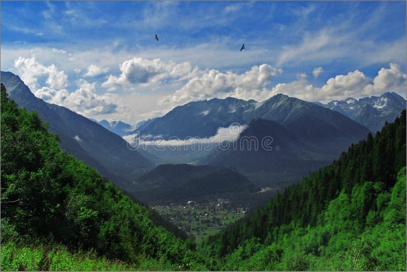 Arhyz. Montañas. foto de archivo
