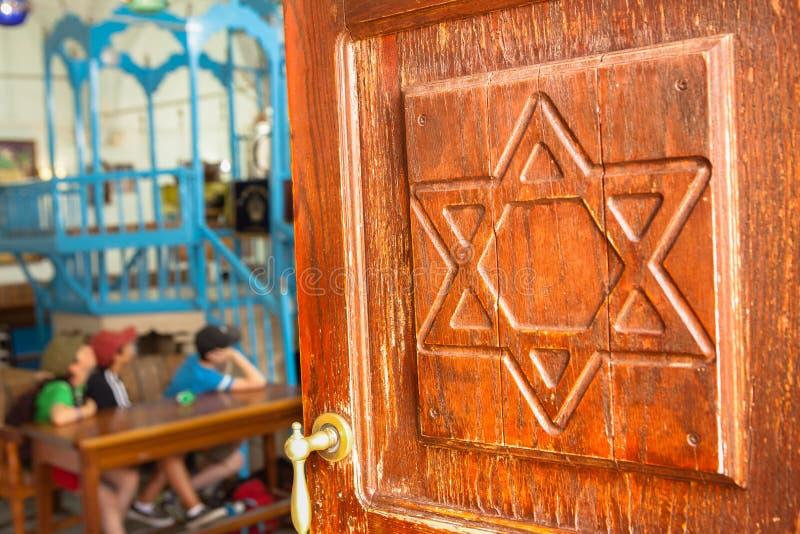 Ari Ashkenazi Synagogue immagine stock