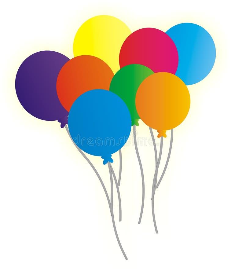 Aria-baloons immagini stock libere da diritti