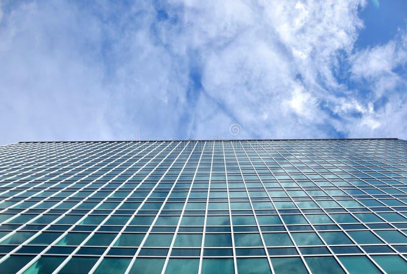Aria de cristal moderna del negocio de los edificios foto de archivo libre de regalías