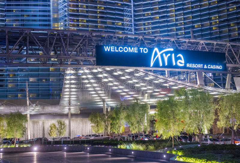 Aria di Las Vegas immagine stock