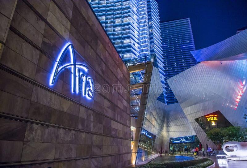 Aria di Las Vegas immagini stock