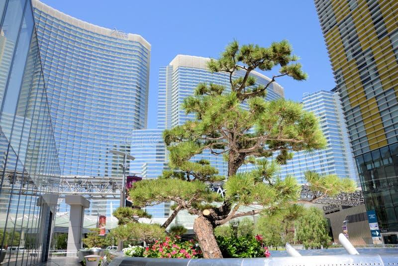 Aria Hotel Las Vegas fotos de archivo libres de regalías