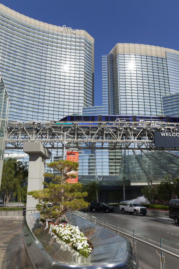 Download The Aria Hotel In Las Vegas, NV On May 18, 2013 Editorial Stock Photo - Image: 31090313