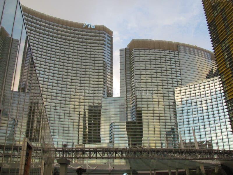 Aria-Las Vegas stock photography