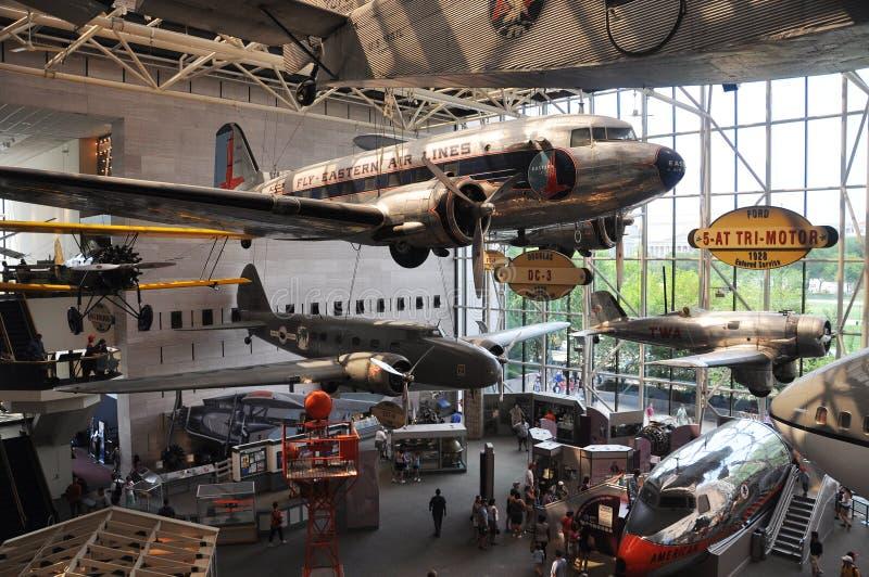 Aria nazionale e museo di spazio a Washington fotografia stock