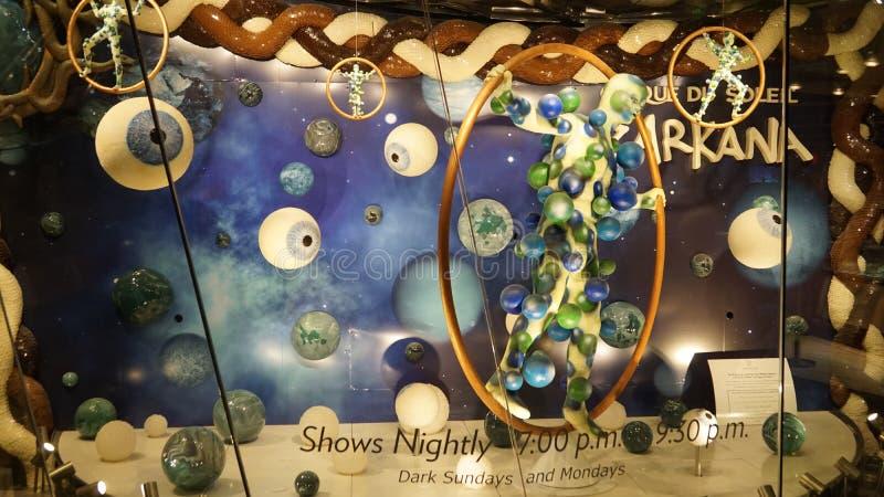 Aria Resort y casino en Las Vegas, Nevada fotografía de archivo libre de regalías