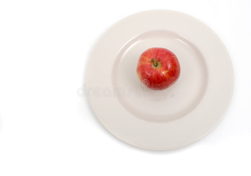 Arial Apple Imagem de Stock Royalty Free