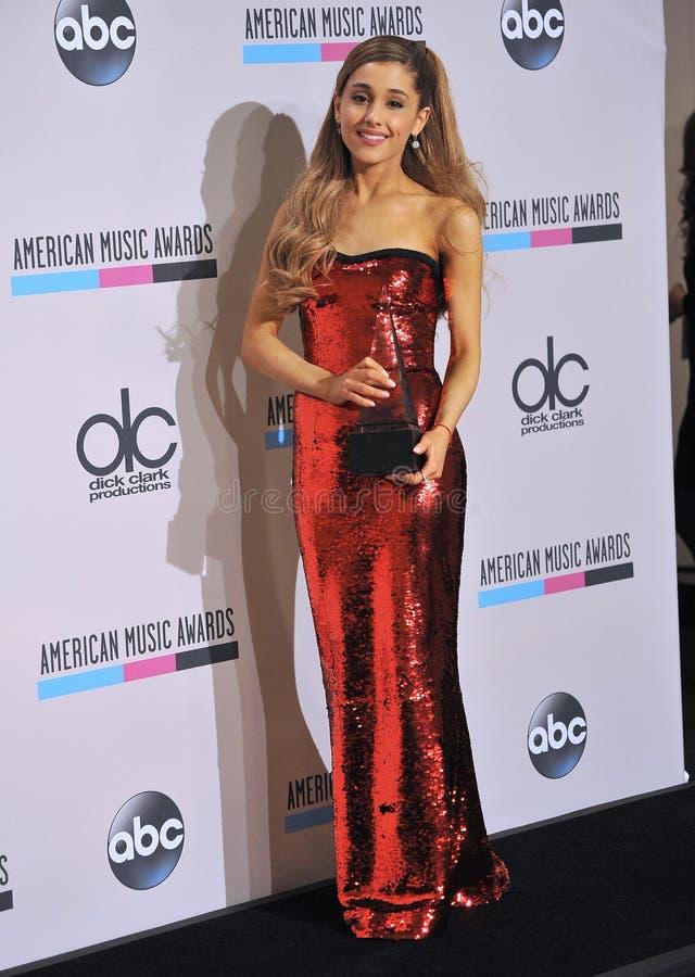 Ariana Grande imagens de stock