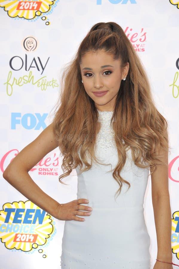 Ariana grandioso imagem de stock royalty free