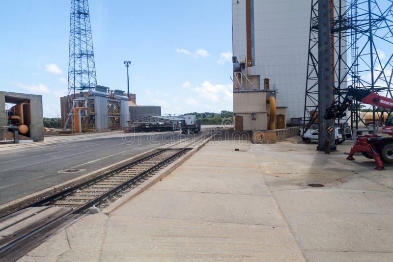 Ariane Launch Area 3 stockfotografie