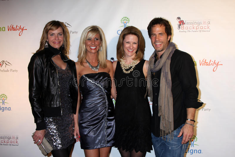 Download Arianne Zucker, Shawn Christian Editorial Stock Image - Image: 23106934