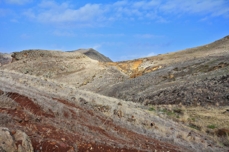 Download Arid hills stock image. Image of madeira, extreme, view - 27612609