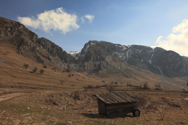 Arid Landscape Royalty Free Stock Photography
