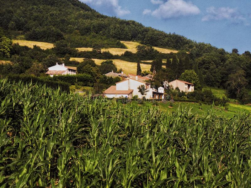 Ariege. Region of the French pyrenees royalty free stock image