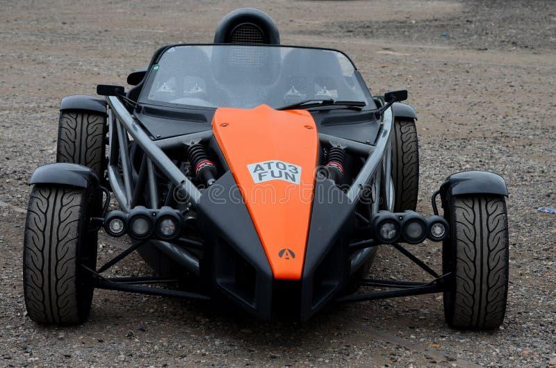 Ariel едет на автомобиле автомобиль спорт высокой эффективности корабля атома 3 стоковое изображение
