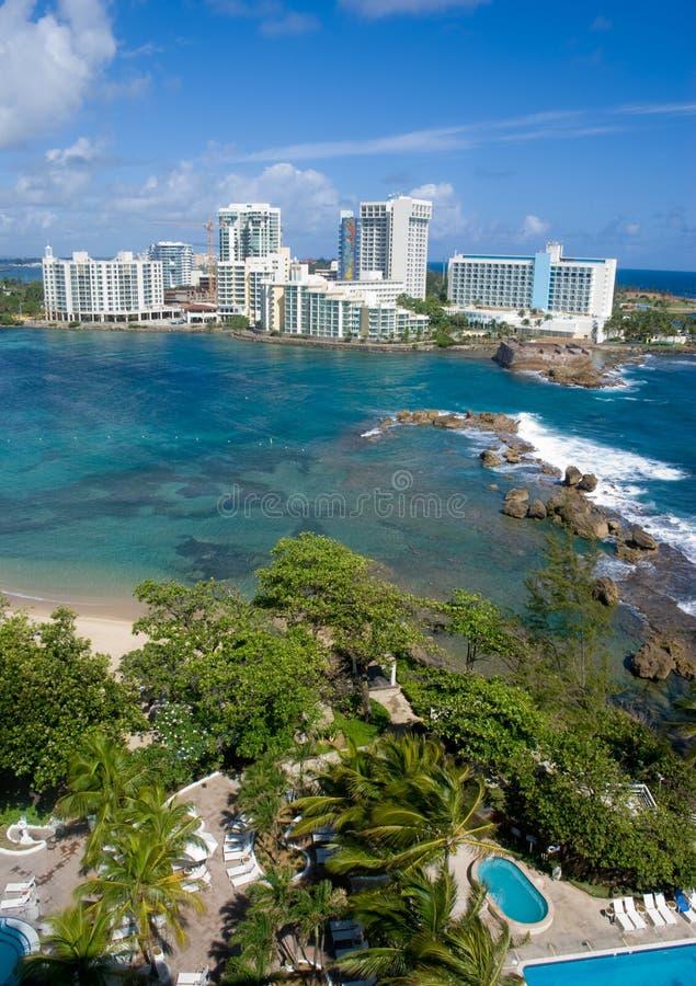 ariel juan Puerto Rico san arkivfoton
