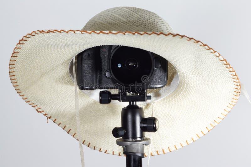 Ariel - 07, marzo 2017: la macchina fotografica di EOS di 1dx Canon con il sigma 15mm len immagini stock