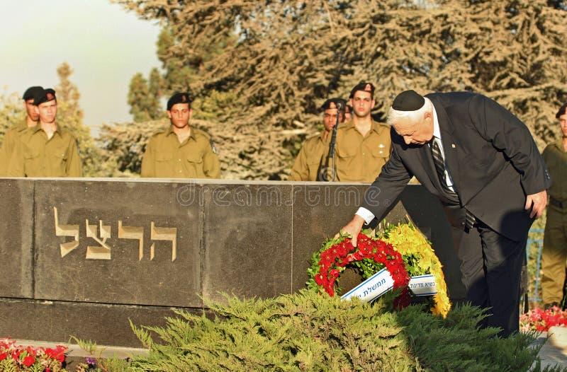 Ariel Sharon foto de archivo libre de regalías