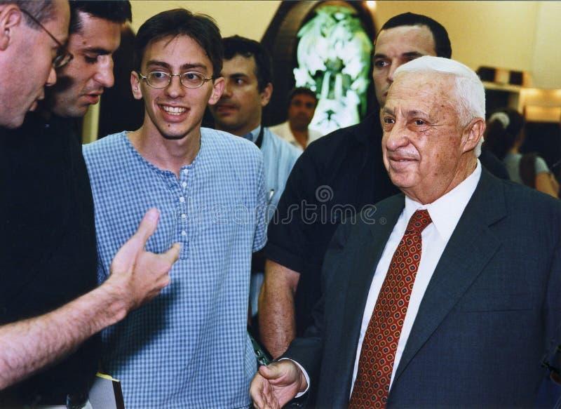 Ariel Sharon Editorial Stock Photo