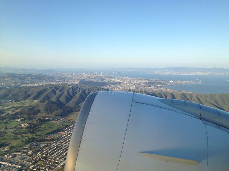 Ariel widok San Fran obraz stock